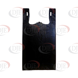 Roll Of Plastic Shopping Bags Black