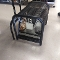 Used Shoe Fitting Stool with Mirrors - Black